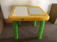 Kid's Crayola art and play Table