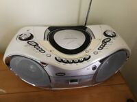 Goodmans stereo compact disc player MW/FM stereo cassette recorder
