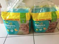 Pampers baby dry nappies 5+(68) & 6+(64) for £15