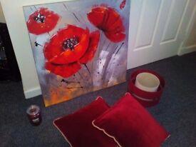 Canvas & cushions