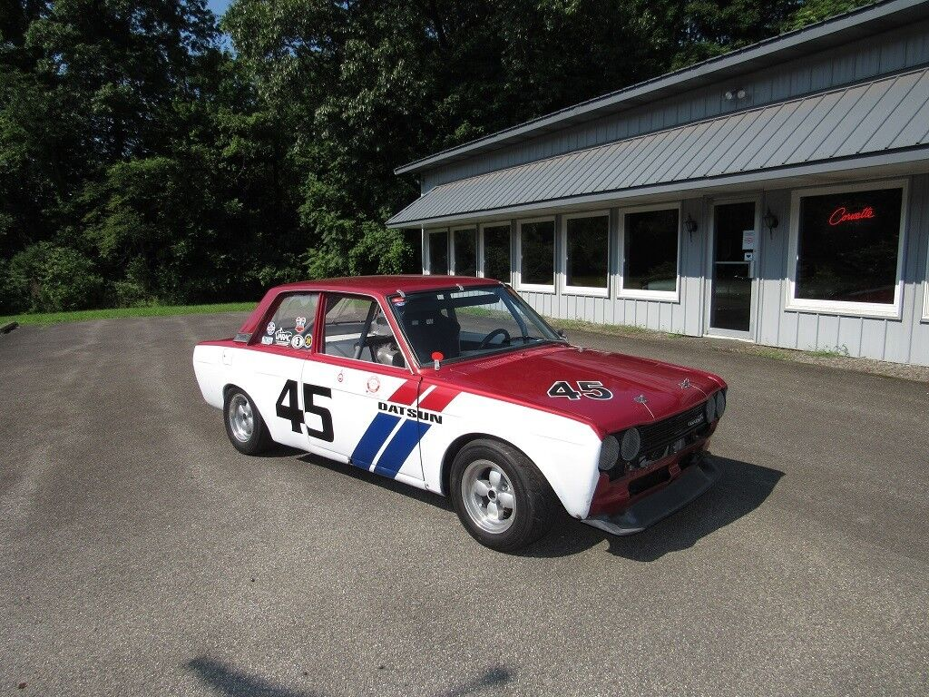 1970 Datsun 510 Race Car Well Prepared SVRA VRG HRG With Spare Package Tin Top
