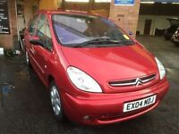 2004 Citroen Picasso 1.6 desire 12 months mot/3 months parts and labour warranty