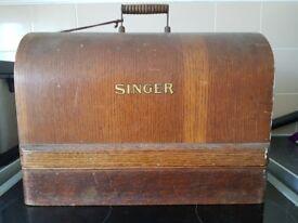 Singer sewing machine 1900s