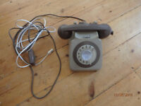 Classic BT Rotary Residential Home Phone (fully working)