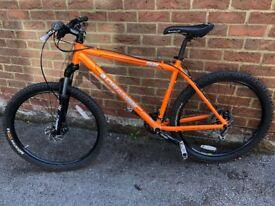 Orange G2 Mountain Bike, Great Condition 19inch Frame