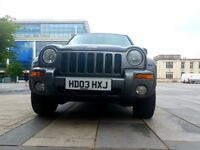 Jeep Cherokee Extreme Sport A 2003. Starts and drives Spares and repairs
