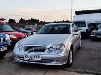 2006 Mercedes E200 Elegance Auto 1.8 Kompressor Very Low Miles WARRANTY