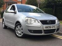 2006/06 REG VOLKSWAGEN POLO 1.4 S ** 1 FORMER KEEPER + FULL SERVICE HISTORY** IDEAL 1ST CAR** £1495