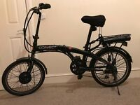 Coyote Electric Folding Bike (almost new) from smoke free and pet free house