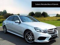 Mercedes-Benz E Class E220 BLUETEC AMG LINE PREMIUM (silver) 2015-03-13