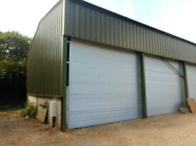 Storage Unit / Workshop to rent in Whitford East Devon. 11m x 11m (36ft x 36ft) - Approx 1300 sqft.