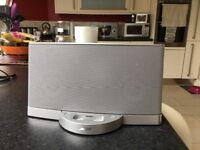 Silver Bose speaker