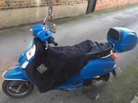 Vespa s 125 3 valve registered as 50cc 2012