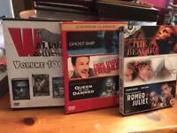 Job lot of original DVDs
