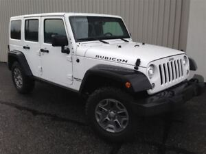 2017 Jeep WRANGLER UNLIMITED Rubicon +Bluetooth, 2 Toits, NAV+