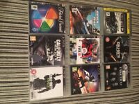 PS3 250gb bundle with 10 games including Call of duty hardened edition