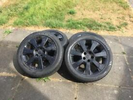 "17"" alloys 5 stud"