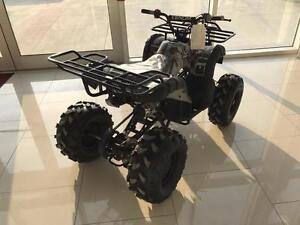 New Venom 125cc  Teen/Adult Gas ATV 4 stroke with Reverse - Big tires, Metal Racks, Remote Kill Switch