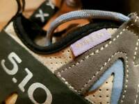 Women's 5.10 Siren Climbing Shoes size 40