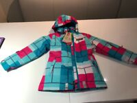 New with Tags. Lego Wear Girl's Jackie 672 Ski/Winter Jacket - Bright Pink, Size 134 (9 yrs)