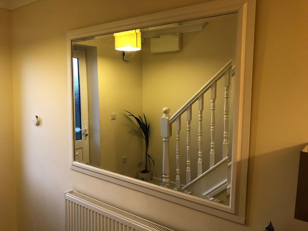 Very Large Mirror with Beveled edges