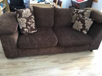 2/3 seater sofa n foot stool. great condition
