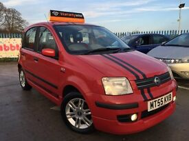 2005 55 Fiat Panda 1.3 Diesel Sporting Abarth Edition- 5 Dr Hatchback -£30 a Year Road Tax- Kitted!