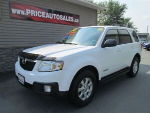 2008 Mazda Tribute LIMITED-HEATED LEATHER-SUNROOF-REMOTE START!!