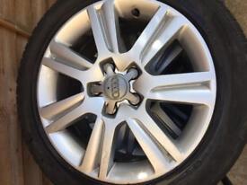 "17"" Audi alloys"