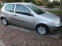 Fiat Punto Sunroof Special 1242cc Petrol 5 speed manual 3 door hatchback 05 plate 21/07/2005 Silver