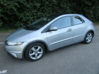 Honda Civic 1.8 I-VTEC ES i-Shift / Auto / Semi Auto 2007 18000 Miles FSH Panoramic Glass Roof