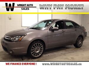 2011 Ford Focus SES| LEATHER| SUNROOF| SYNC| 119,742KMS