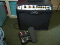 Swap peavey Vypyr VIP 2 Electric Guitar Amp With Sanpera 1 Foot Controller
