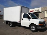 2015 GMC Savana 12ft SRW CUBE VERY RARE! fin or lease from 4.