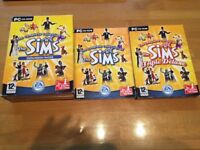 THE SIMS 1 TRIPLE DELUXE + THE COMPLETE COLLECTION OF EXPANSION PACKS PC GAME