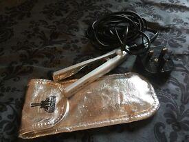 Corioliss mini hair straighteners ideal for traveling, shorter hair styles, men/boys fringes