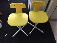 IKEA molte Chair computer chair x2 chairs