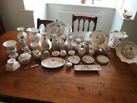 Cottage Garden Pieces vases jug pots bowls