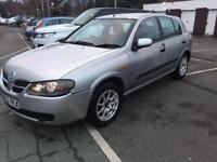 NISSAN ALMERA SE AUTOMATIC 1.8/1 YEAR MOT/FIRST TO SEE WILL BUY/ £795