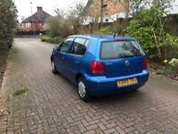 VW Polo Match 1.4 petrol - Cheap insurance - long MOT -