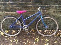 Ladies girls single speed Raleigh bike bicycle