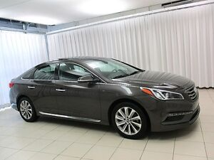 2016 Hyundai Sonata Sport Tech Edition! Low KMs!! Heated Leather