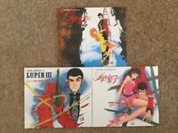 Three Lupin The 3rd Original Soundtracks - CD Digipacks