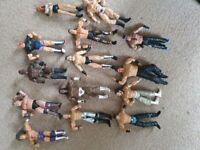 WWE toy figures bundle