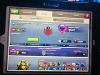 iPad with 30 clash accounts