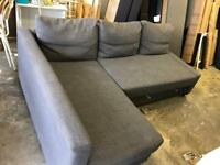 FREE DELIVERY IKEA FRIHETEN GREY SOFA BED