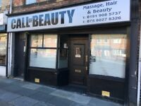 Ground Floor Retail Unit with Large Rear Garage - Busy main road frontage