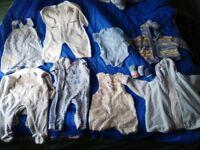 assortment boys baby clothes