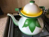 Middle Eastern metal tea/coffee pot unused