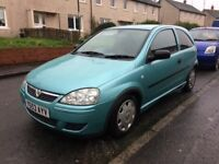 BARGAIN 53 REG VAUXHALL CORSA IDEAL FIRST CAR PX WELCOME £475